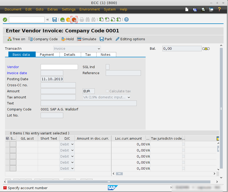 Four methods to post a vendor invoice in SAP | SAP Expert
