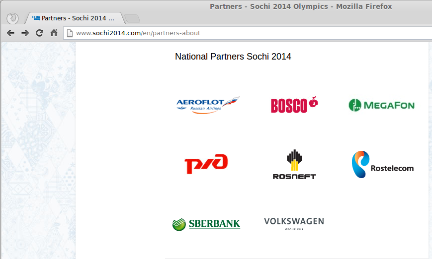 National Olympic Partners