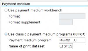 Classic printing program