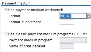 Payment Medium Workbench