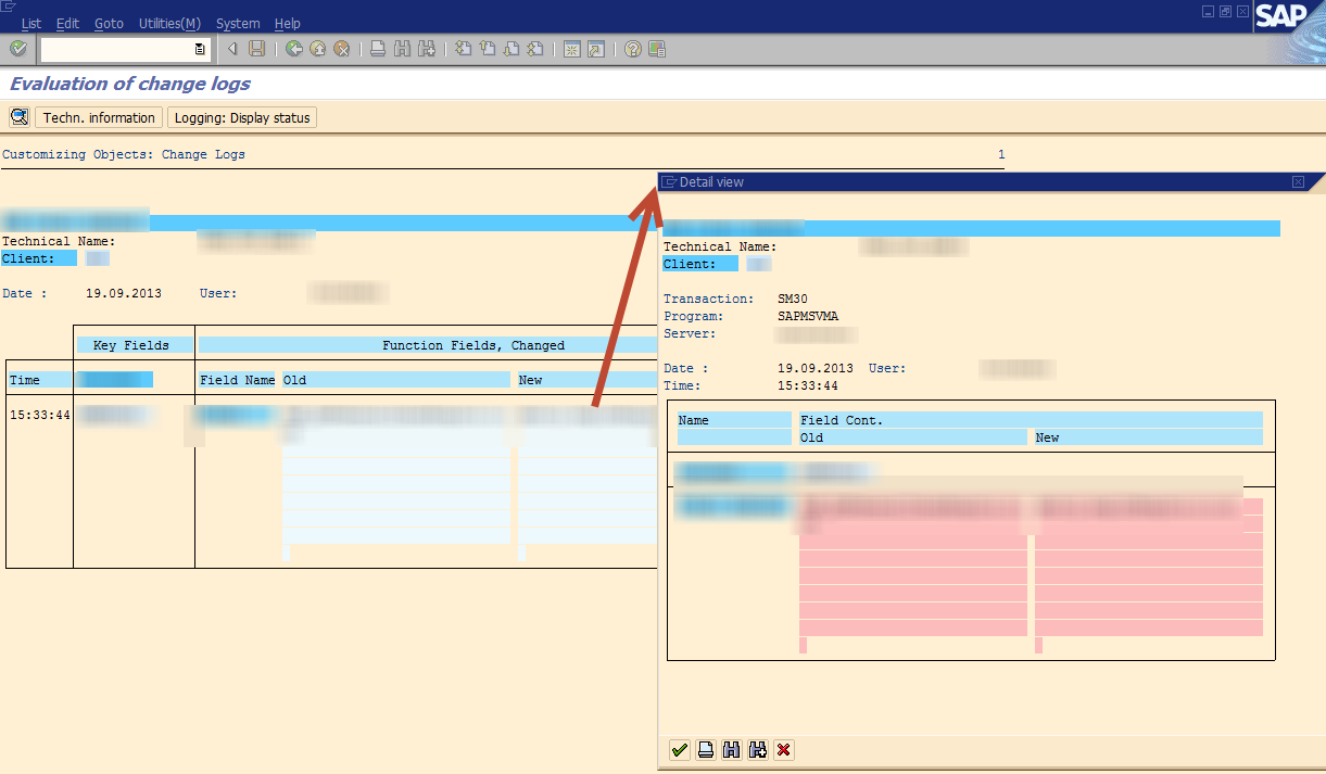 How to: tracking changes in bespoke SAP objects