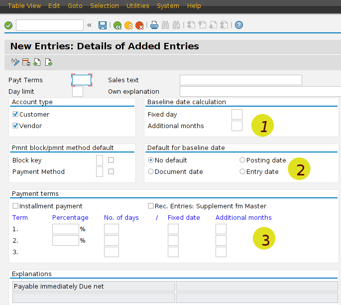 How to: paying vendor on the fixed day
