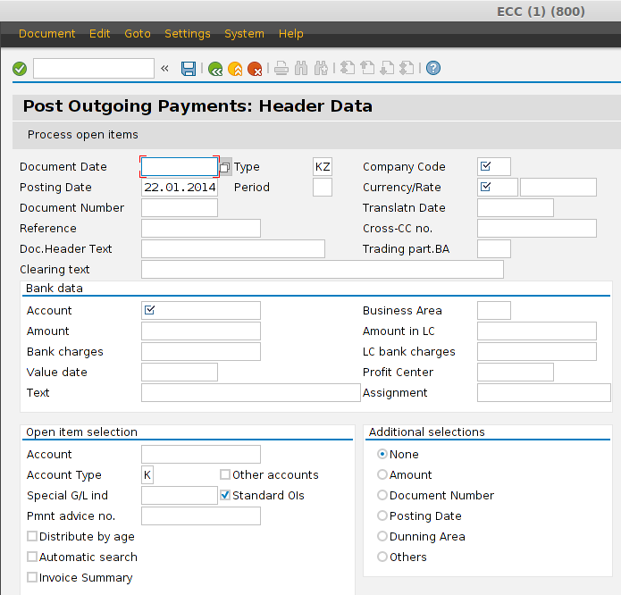 Eight methods to pay vendor in SAP