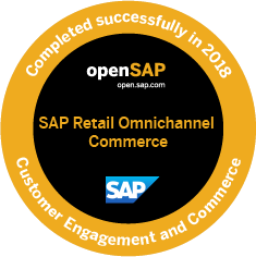 OpenSAP badge
