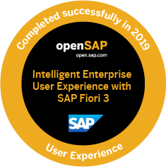 Intelligent Enterprise User Experience with SAP Fiori 3